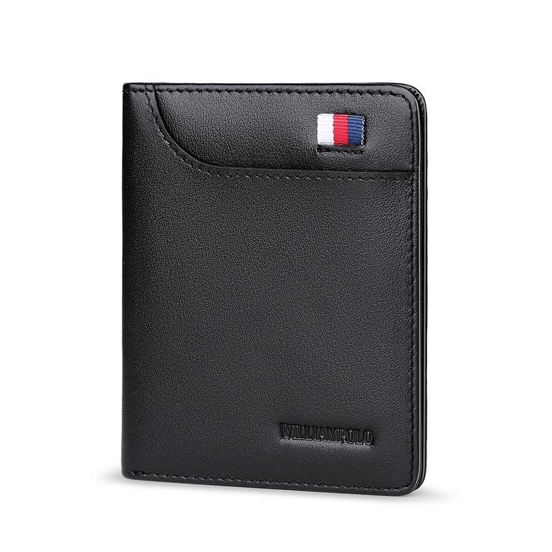 WILLIAMPOLO Männer Brieftasche Kurze Kleine brieftasche