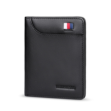 WILLIAMPOLO Men Wallet Short Small wallet