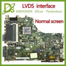 KEFU X550ZA per ASUS VM590Z X550ZE X550ZA scheda madre del computer portatile X550ZE scheda madre LVDS interfaccia FX7600P/FX7500/A10-7400P Test