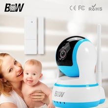 BW Wi-fi IP Digicam Wifi Safety 720P Night time Imaginative and prescient Web HD CCTV Constructed-in Microphone Surveillance 2 Means Audio