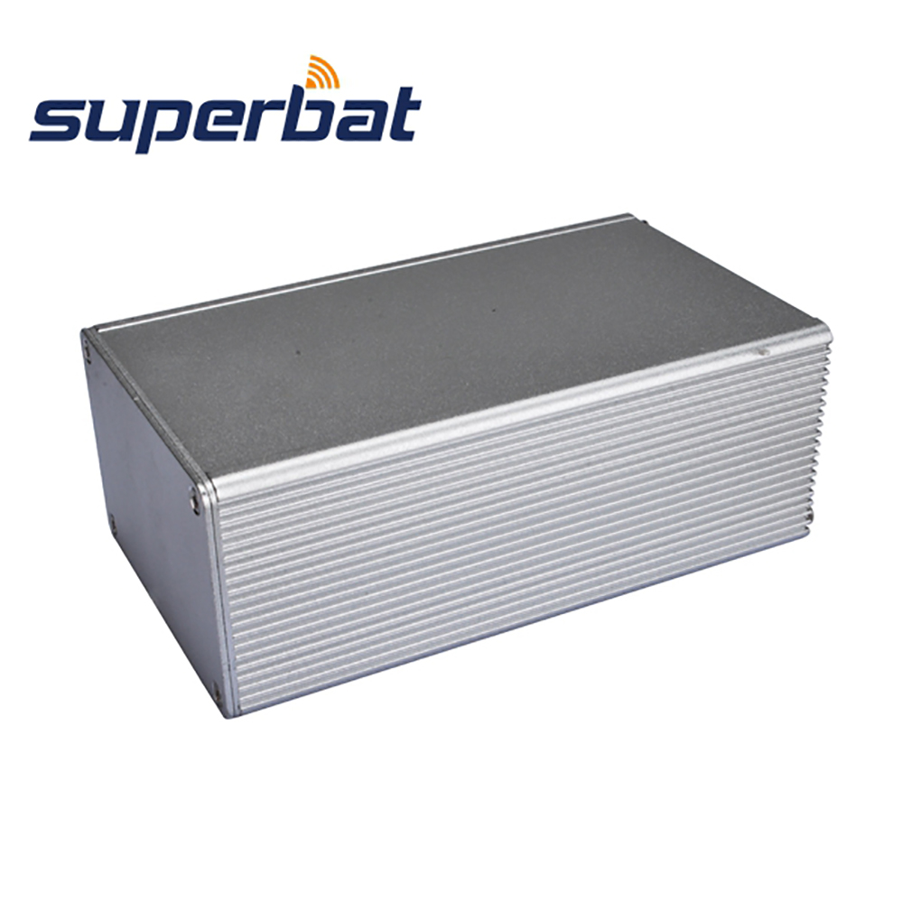 110mm*66mm*43mm Aluminum Junction Box Enclosure for PCB Amplifier Instrument Electronic Project DAC DIY 4.32″*2.6″*1.69″(L*W*H)