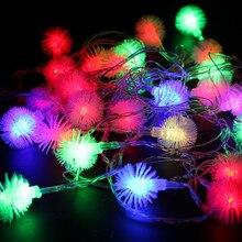 цена Christmas Led String Garland Light Tree Fairy Light 4M 10M 110V 220V Waterproof for Home Garden Party Outdoor Holiday Decoration онлайн в 2017 году