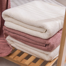 Bamboo Fiber Solid Bath Towel Beach Towel For Adults Fast Drying Soft 4 Colors 70*140cm Thick High Absorbent Antibacterial J-12 fast drying soft microfiber bath towel beach towel 70 140 cartoon cute bear head baby towel high absorbent household two wear