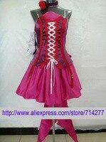 Livraison gratuite Personnalisé Pas Cher Rouge robe Sheryl cosplay costume de Macross Frontier Anime vêtements