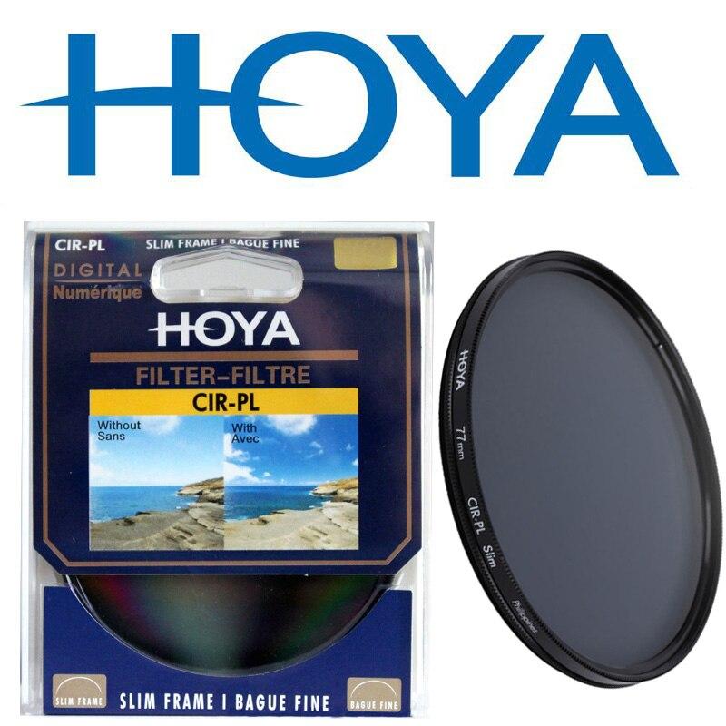 HOYA Caméra SLIM CPL Filtre 58mm 67mm 72mm 77mm 82mm Circulaire Polarisant 46mm 49mm 52mm 55 Pour Nikon Canon Camera Lens Filtre