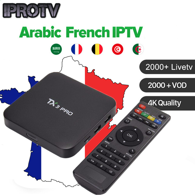 Iprotv 2100 TV live Arabic French Belgium Europe IPTV subscription for Android Smart TV box M3u Enigma2 free test