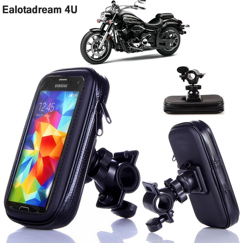 Motor Bicycle Bike Phone Holder 360 Rotary Universal Waterproof Case Pouch For Huawei P20 Lite /P20/P20 Pro Phone Holder Support