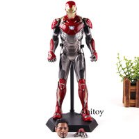 ONE:6 Crazy Toys 1:6 Marvel Legends Iron Man Mark XLVII MK47 1/6 Scale Ironman Action Figure Collection Model Toys