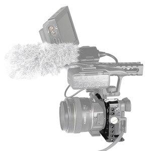 Image 5 - SmallRig Für Sony A6500/A6300 Kamera Käfig Verbesserte Version Schutzhülle Dslr Kamera Rig Für Sony A6500 Aluminium Legierung Käfig  1889