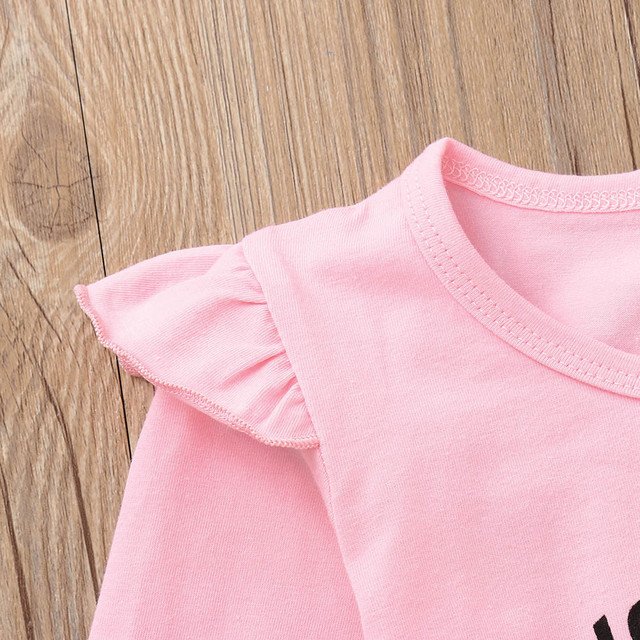 Newborn Clothes Tops Geometric Pants Outfits Set
