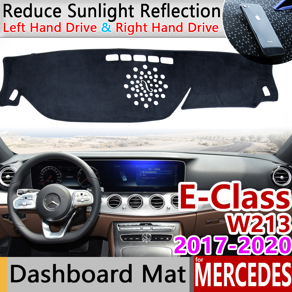 for Mercedes Benz E-Class W213 Anti-Slip Mat Dashboard Cover Pad Sunshade Dashmat Accessories E-Klasse E200 E250 E300 <font><b>E220d</b></font> AMG image