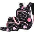 3 teile/satz Druck Schule Taschen Rucksäcke Schul Mode Kinder Schöne Rucksack Für Kinder Mädchen Schule tasche Student Mochila sac