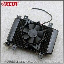 ATV радиатор охлаждения воды охлаждающий вентилятор для 200CC 250CC ATV Quad 4 Wheeler