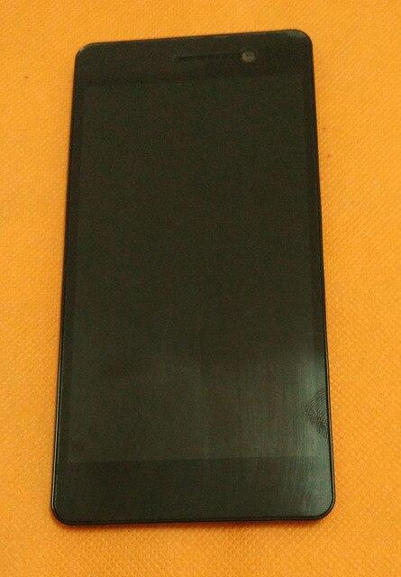 Использовать Оригинальный ЖК-Дисплей + Сенсорный экран + Рамка для Blackview Omega V6 5.0 ''дюймовый MTK6592W Octa Ядро FHD 1920x1080 Бесплатно доставка
