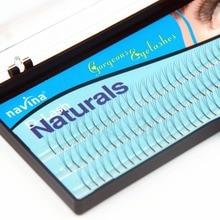 Navina 1 CASE 0.12D Curl (8/10/12MM) Natural False Eyelashes Extension Makeup Tool Soft Fake Eyelashes for Eye Beauty