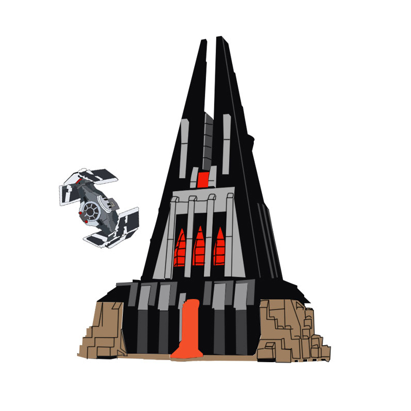 Lepin 05152 Star Toys Wars legoings 75251 Darth Vader`s Castle Set Building Blocks Bricks Assembly Toys Christmas Birthday Gifts