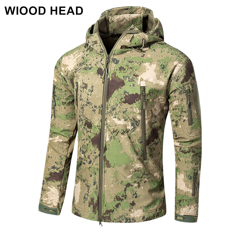 Lurker Shark Skin Soft Shell V5 Military Tactical Jacket Men Waterproof Windproof Warm Coat Camouflage Hooded Camo Army Clothing lurker shark skin soft shell v4 military tactical jacket men waterproof windproof warm coat camouflage hooded camo army clothing