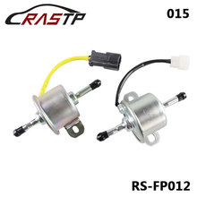 RASTP - High Quality HEP015 Car Auto Electric Fuel Pump 24V Single Sale RS-FP012 rastp car black auxiliary secondary water pump for volkswagen passat auto accessories rs fp022