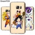 DREAMFOX L033 dragón Goku suave TPU funda de silicona para Samsung Galaxy nota S 5 5 5 6 6 7 8 9 10 10e Lite Edge Plus Grand Prime