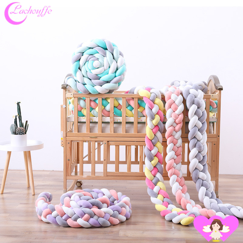 2M rope cotton Knot New Arrivals Childrens Room Bed around Baby cot Anti-Collision Woven2M rope cotton Knot New Arrivals Childrens Room Bed around Baby cot Anti-Collision Woven
