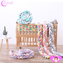 2M rope cotton Knot New Arrivals Children's Room Bed around Baby cot Anti-Collision Woven