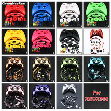ChengHaoRan Hard Case Gamepad Protective Shell Cover Full Set Buttons Analog Stick Bumpers For XBox 360 Wireless Game Controller