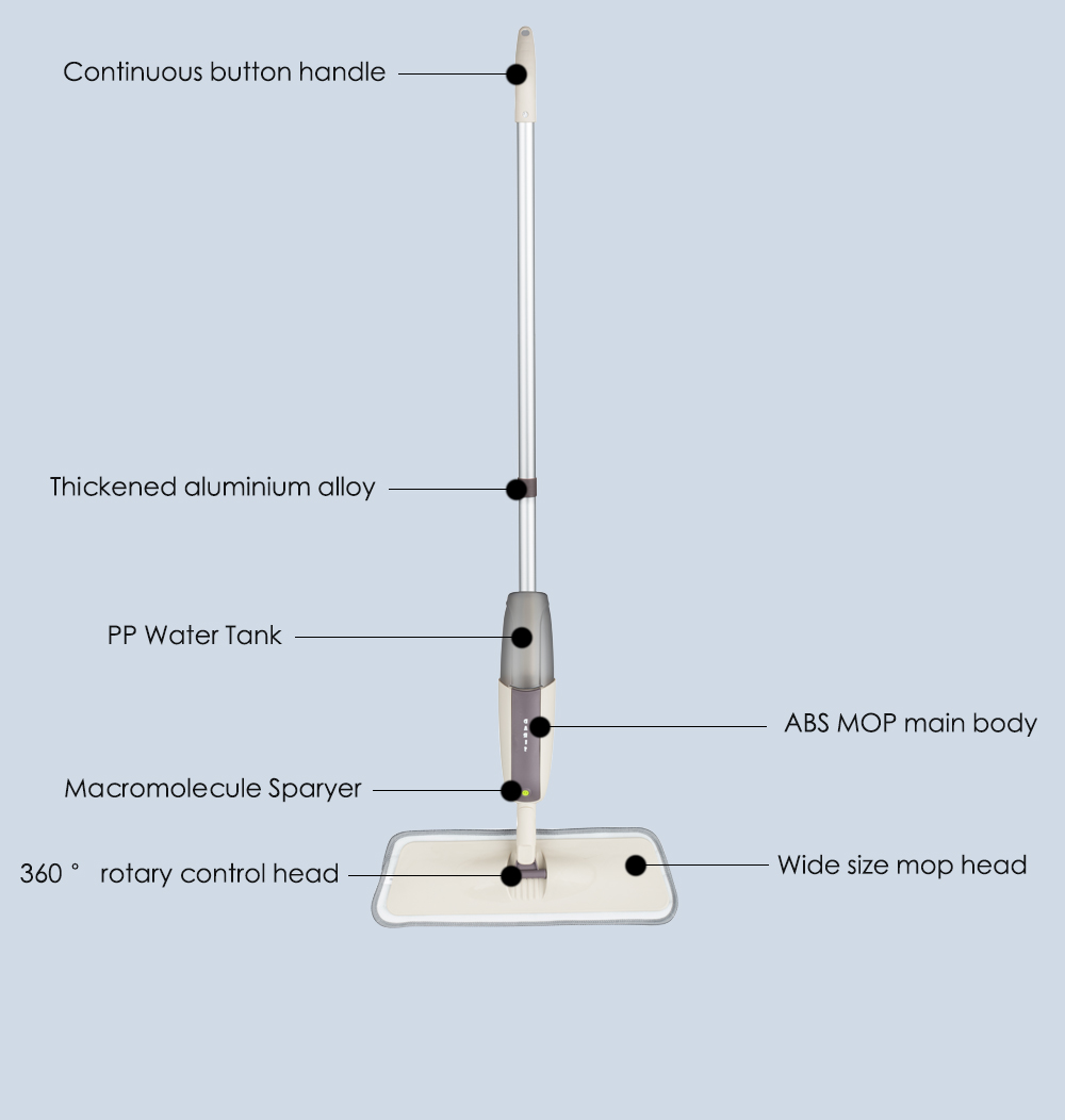 Microfiber Spray Mop Microfibre Mop Cleaning Device