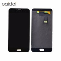 For Meizu MX6 LCD Display Touch Screen Mobile Phone Lcds Digitizer Assembly Replacement Parts With Free