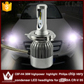 Guang Dian H4 LED Headlight Head lamp with mute fan very condenser High Beam / low beam HI/LO Beam C6F 6000K white for CR-V 2005