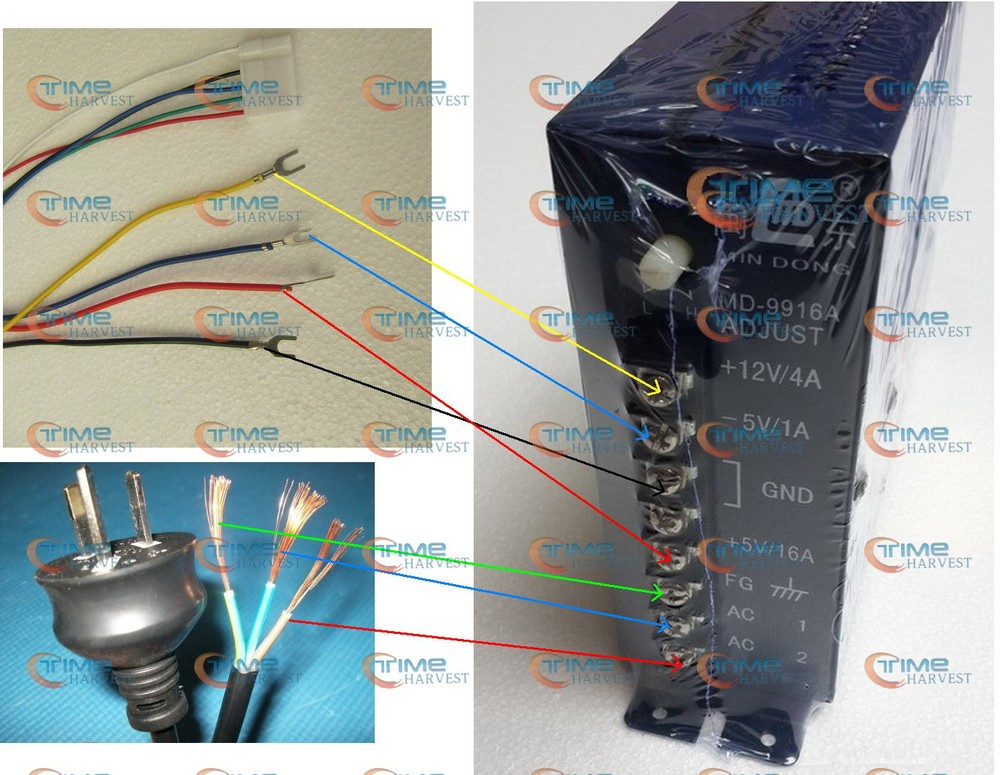 3 pcs 16a switch power supply ce approval can adjust 110v or 220v rh aliexpress com 7-Way Wiring Harness Diagram 7-Way Wiring Harness Diagram