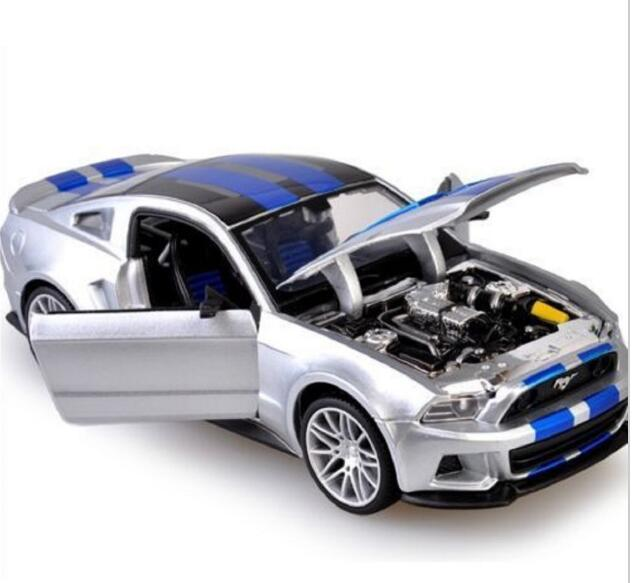 US $79 98 |Maisto 1:24 Need For Speed 2014 Ford Mustang Diecast Model Car  Toy New In Box Free Shipping-in Diecasts & Toy Vehicles from Toys & Hobbies