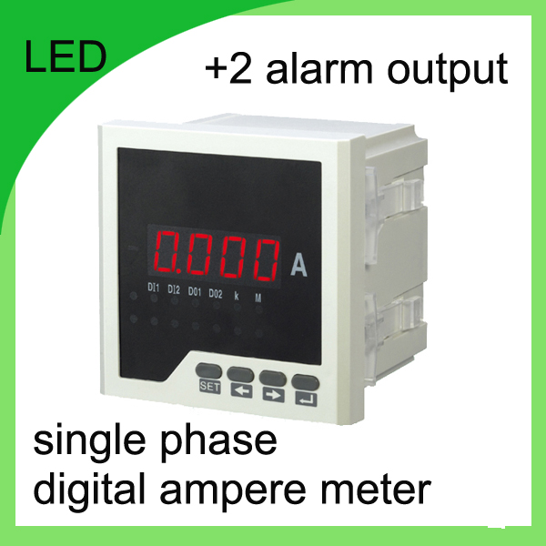 Single Phase Led : Single phase digital ampere meter led current