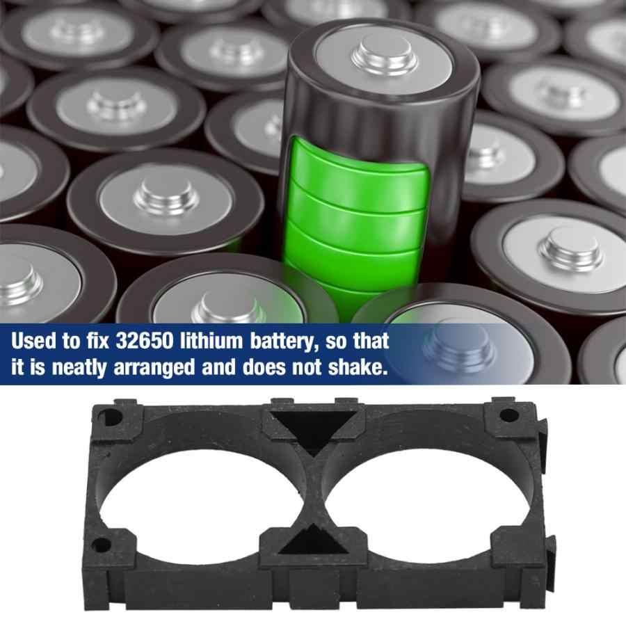 30 chiếc Lithium Pin 32650 Pin Lithium Giá Đỡ Chân Đế Cố Định Kết Nối Núi