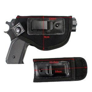 Image 3 - 隠さキャリー銃ホルスターバッグユニバーサルネオプレン iwb ホルスター余分な mag ホルスターすべてのサイズ拳銃狩猟
