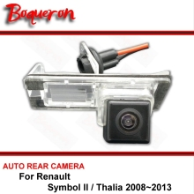For Renault Symbol II 2 / Thalia 2008~2013 Night Vision Rear View Camera Reversing Camera Car Back up Camera HD CCD Vehicle