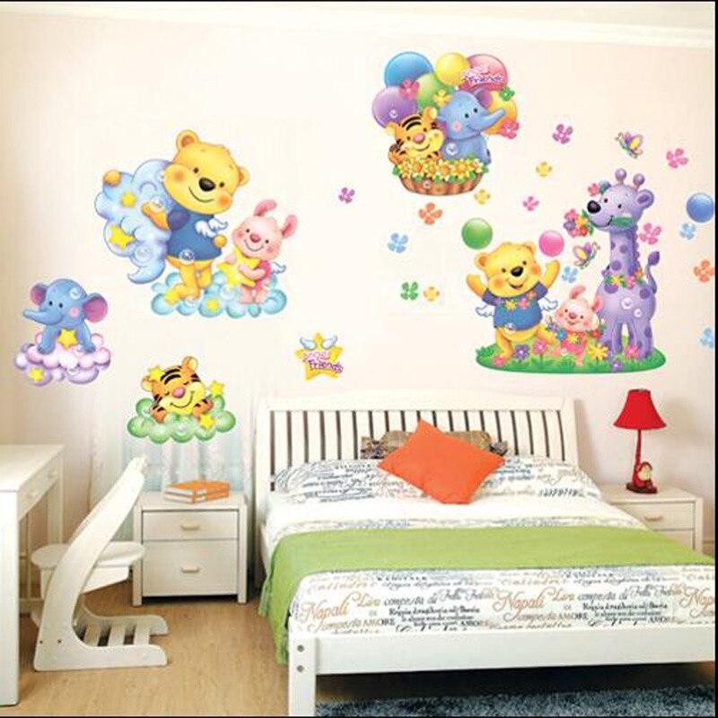 Korean Home Decor: 2016 South Korean Removable Wall Decor Cartoon Cute