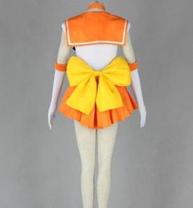 Image 2 - Sailor Moon Anime cosplay Minako Aino/Sailor Venus Unisex Harajuku Halloween party cosplay costumes sets Can be customized