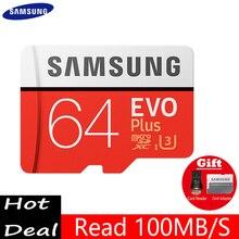 100% Original SAMSUNG EVO Flash Micro SD card Class10 TF card16gb 32gb 64gb 128gb 80Mb/s memory card for samrtphone and table PC
