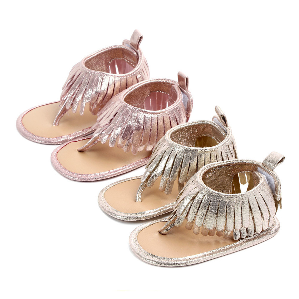 2020 Hot Sale Baby Girl Princess Tassels Shoes PU Leather Lovely Infant Soft Sole Toddler Crib Shoe Fashion Prewalker Moccasin