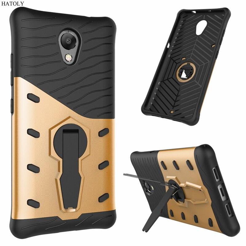 HATOLY For Fundas Lenovo P2 Armor Case Shockproof Hybrid Rubber Silicone Hard Cases For Lenovo P2 Cover Lenovo P2 P2c72 P2a42