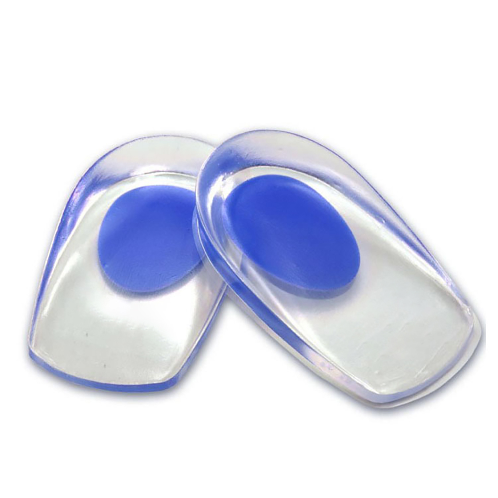 Outdoor Camping Hiking Insoles Silicone Gel Feet Cushion Foot Heel Cup Elastic Care Insole Pad Anti-foot Pain Comfortable Insole