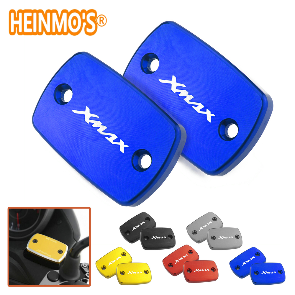 Xmax 300 Front Brake Fluid Tank Cover For Yamaha X Max Clutch Oil Reservoir Cap Xmax 300 For Yamaha Motorcycle Accessorie 2 PCS