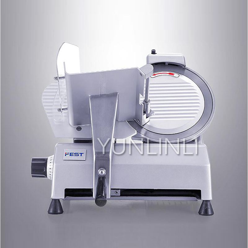 Mutton Slicer, 220V 240W Commercial Planer Flaker, 10 Inch Semi-automatic Meat Slicer Mutton Roll Beef Roll RC-250BMutton Slicer, 220V 240W Commercial Planer Flaker, 10 Inch Semi-automatic Meat Slicer Mutton Roll Beef Roll RC-250B