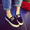 Free Shipping  Trendy Canvas Shoe Casual Flats Slip-on Loafer Out-door Hot-selling Shoes Size 35-40
