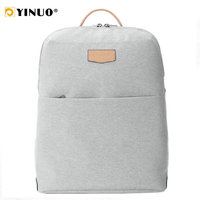 YINUO Shell Backpack Women 13inch Laptop Backpack Multifunctional Waterproof Back Anti Theft Large Capacity School Bags