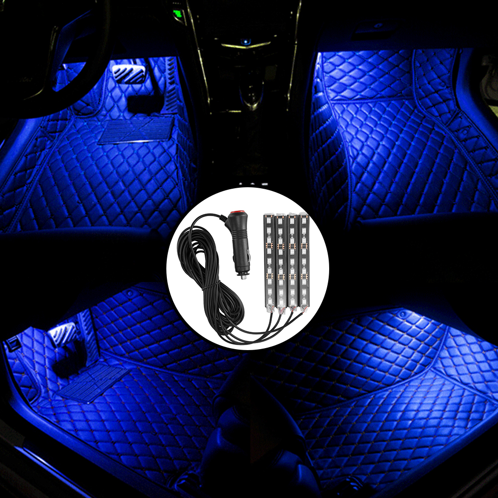 Car Interior Lights 36 Led Under Dash Floor Foot With Switch Decoration In Decorative Lamp From Automobiles Motorcycles