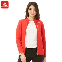 HUMTTO Women's Knit Coat Cardigan Anti sweat Soft Comfortable Jacket Slim Simple Pull Sportswear