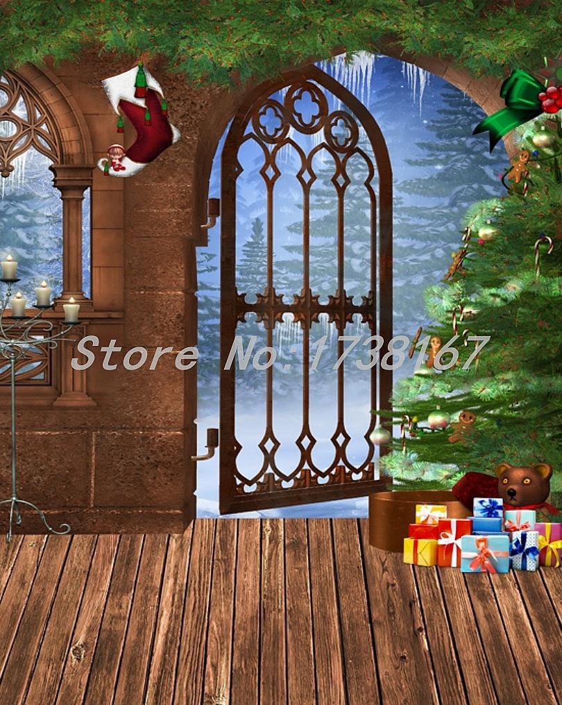 2015 New Newborn  Photography Background Christmas Vinyl  Backdrops 200cm *300cm Hot Sell Photo Studio Props Baby L832 200x400cm 7x14ft photo background studio vinyl backdrop screen digital printing newborn photography props f342