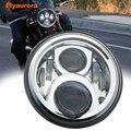 """Universal 7 """"Led Auto Motorrad Scheinwerfer H4 Phare Farol Moto Scheinwerfer Kopf Licht Für honda cb400 honda cb750 honda cb600 auf"""