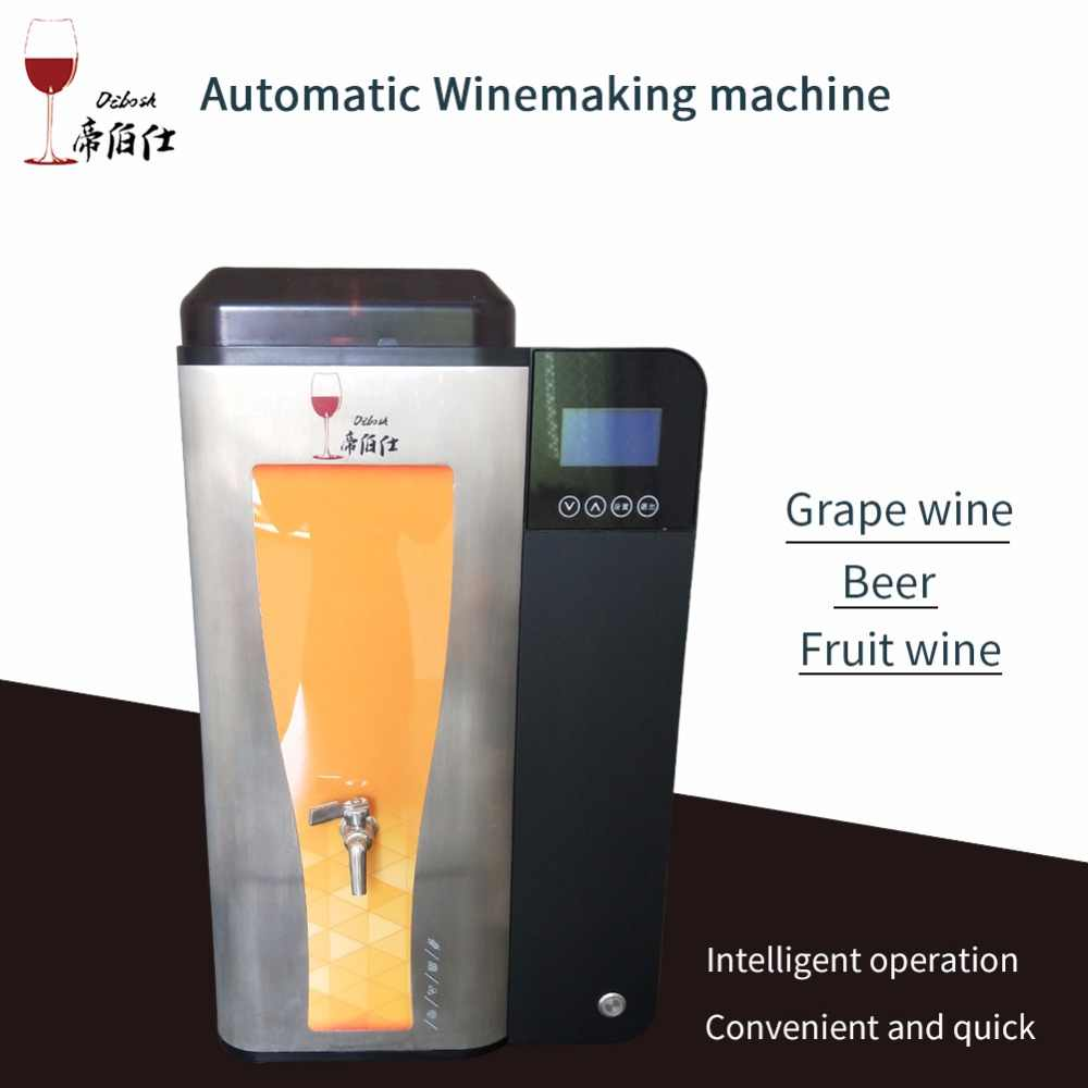 HOT 10L home automatic brewing machine beer grape wine fruit wine brewing malt yeast One Key smart brewing equipment ingredients